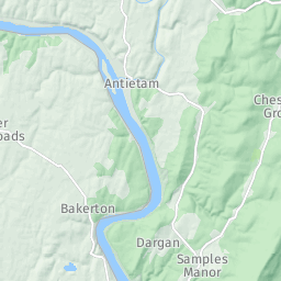 Shenandoah River In West Virginia Paddlingcom - West virginia rivers map