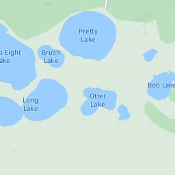 Pretty Lake Quiet Area In Michigan Paddlingcom - Pretty lake map
