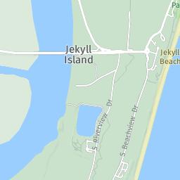 Jekyll Island In Georgia Paddlingcom - Georgia map jekyll island